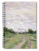 Path Through The Vines At Argenteuil Spiral Notebook