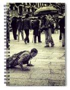 Pathway To Awakening Spiral Notebook