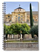 Patio De Los Naranjos At Mezquita In Cordoba Spiral Notebook