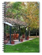 Patio Dining Madrid Spiral Notebook