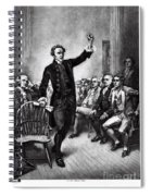 Patrick Henry, American Patriot Spiral Notebook