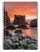 Patrick's Point Sunset Spiral Notebook