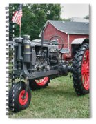 Patriotic Farmall Spiral Notebook