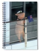 Patriotic Pig Spiral Notebook