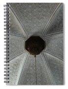 Patterns In Grey Spiral Notebook