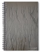 Patterns In Sand Spiral Notebook