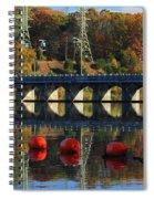 Patterns Of Reflection Spiral Notebook