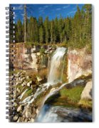 Pauina Falls Overlook Spiral Notebook
