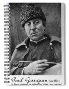 Paul Gauguin Spiral Notebook