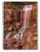 Paulina Falls Sunset Spiral Notebook