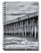 Pawleys Island Pier Spiral Notebook