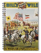 Pawnee Bill Poster, 1895 Spiral Notebook