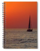 Peace And Tranquility Spiral Notebook