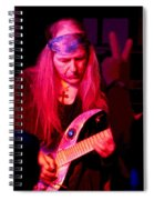 Peace And Uli Roth Spiral Notebook