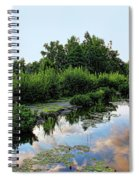 Peaceful Garden Spiral Notebook
