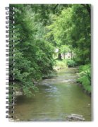 Peaceful Mountain Stream Spiral Notebook