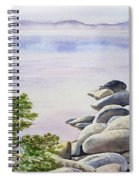 Peaceful Place Morning At The Lake Spiral Notebook