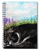 Peaceful Slumber Spiral Notebook