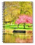 Peaceful Spring II Spiral Notebook