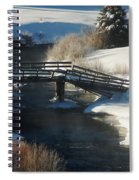 Peaceful Winter Day Spiral Notebook