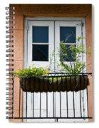 Peach Balcony Spiral Notebook