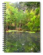 Peacock Springs State Park Spiral Notebook