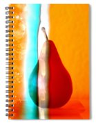 Pear On Ice 01 Spiral Notebook