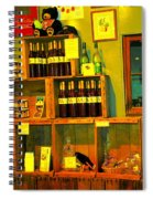 Pear Wine And Jam Spiral Notebook