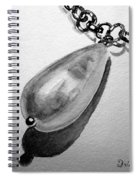 Pearl Necklace Spiral Notebook