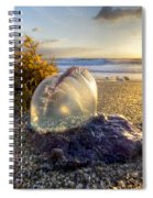 Pearl Of The Sea Spiral Notebook