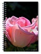 Pearl Pink Petals Spiral Notebook