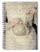 Pearls Spiral Notebook