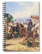 Peasants Of The Campagna Spiral Notebook