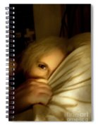 Peekaboo By Candlelight Spiral Notebook