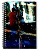 Peeking Spiral Notebook