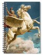 Pegasus The Winged Horse Spiral Notebook
