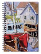 Peggy S Cove 02 By Prankearts Spiral Notebook