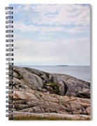 Peggy's Cove Lighthouse Spiral Notebook