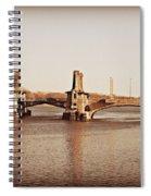 Pelham Bridge In Sepia Spiral Notebook