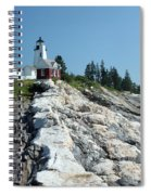 Pemaquid Point Lighthouse Spiral Notebook