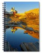Pemaquid Point Reflection 2 Spiral Notebook