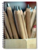 Pencils Spiral Notebook