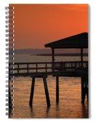 Penetrating The Haze Spiral Notebook