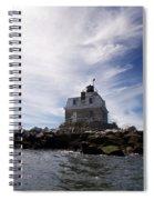 Penfield Reef Lighthouse Spiral Notebook