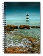 Penmon Point Spiral Notebook