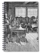 Penn And Colonists, 1682 Spiral Notebook