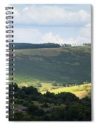 Pennine Way View Spiral Notebook