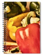 Peppered 4 Spiral Notebook