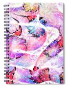 Peppermint Snake Spiral Notebook