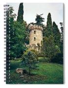 Pepperpot Tower At Powerscourt Spiral Notebook